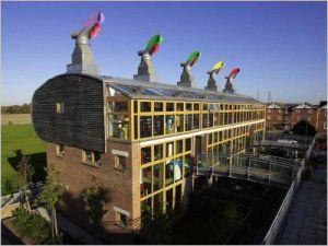 Visions de la ville moderne et du futur buildingsphere - Immeuble ecologique ...